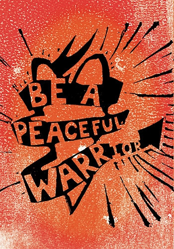 essays on the peaceful warrior Even when applying for international scholarships in other fields, students are  usually asked to write a separate peace essay or a private peaceful essay to  show.